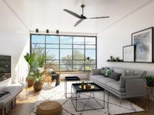 עיצוב דירה בסגנון סקנדינבי