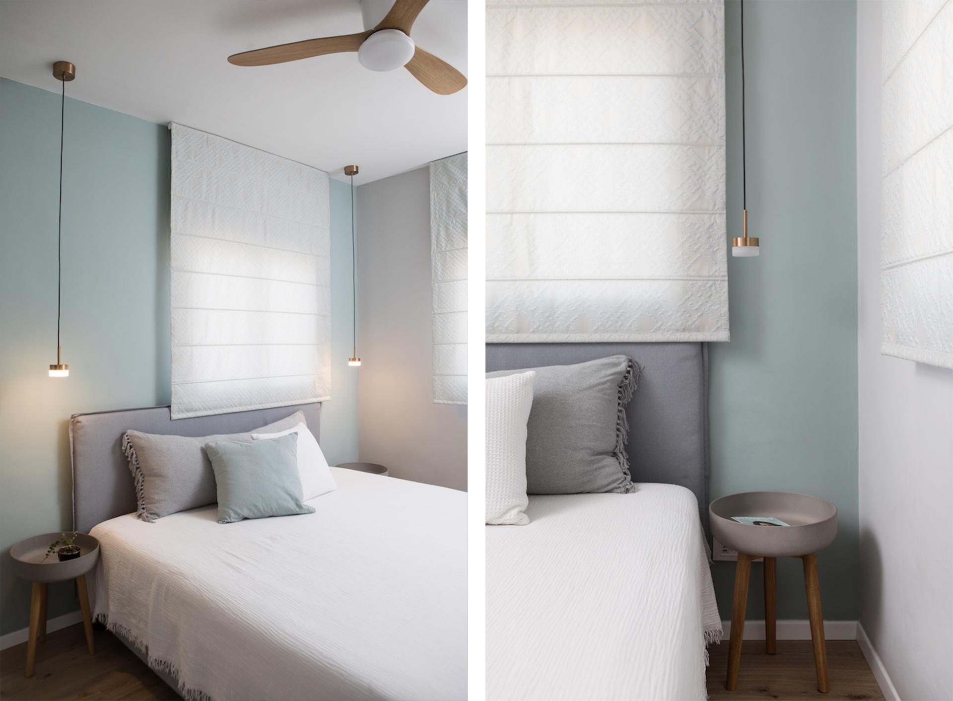 חדר שינה סקנדינבי