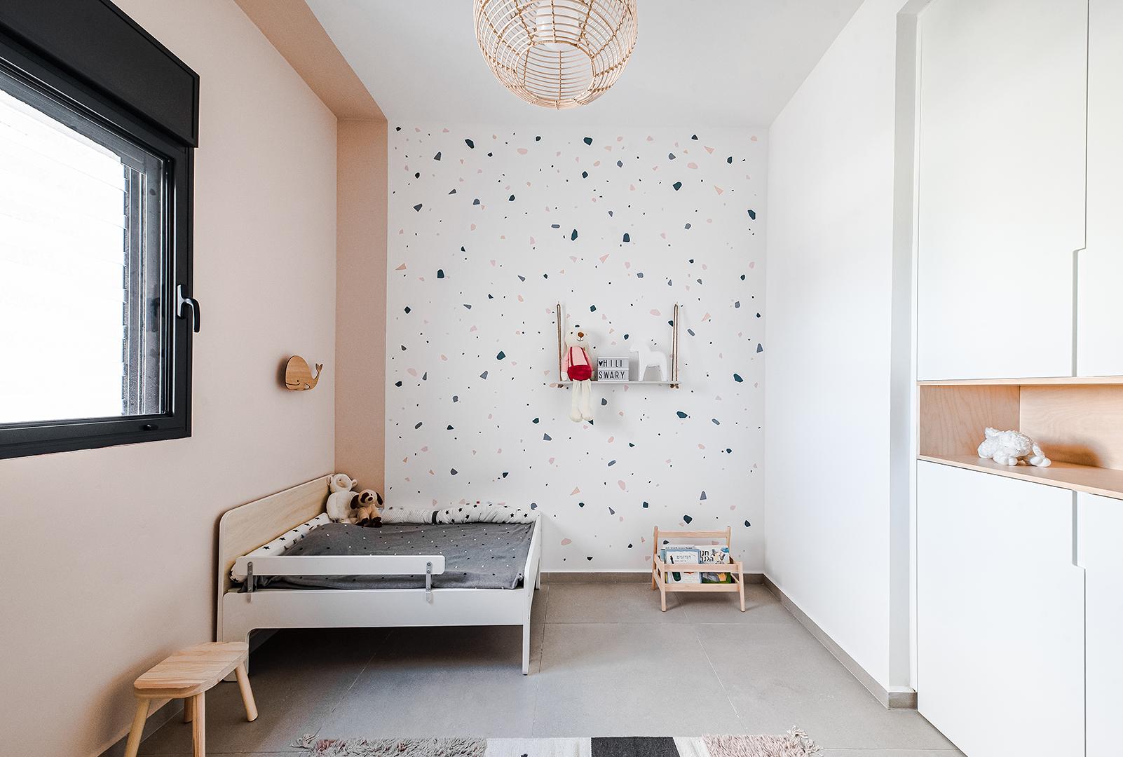 עיצוב חדר ילדים נורדי